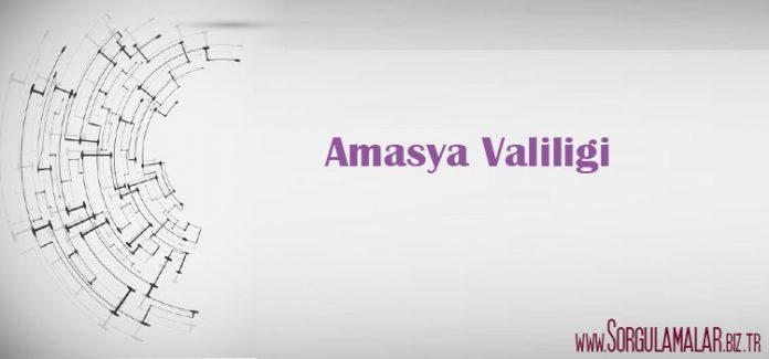 amasya valiligi
