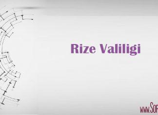 rize valiligi