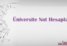 universite not hesaplama